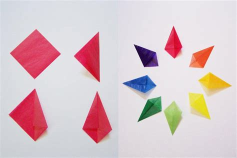 How To Make Paper Kites Step By Step - crafts for kite paper playful learning