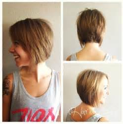 Ombre hairstyle for short hair bob haircuts for fall via