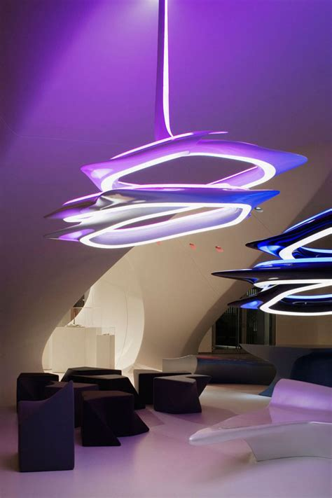Zaha Hadid Chandelier Vortex Chandelier Zaha Hadid Architects Evolo Architecture Magazine