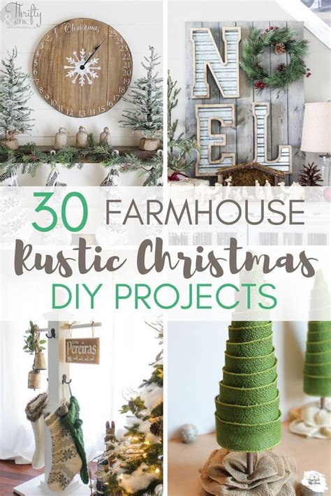 diy projects christmas best 25 rustic farmhouse ideas on country