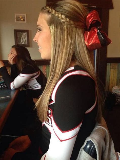 cheerleading hairstyles 20917 best hair straighteners images on hair