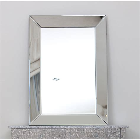 bathroom mirror glass venetian glass mirrored wall mirror choice of sizes by the