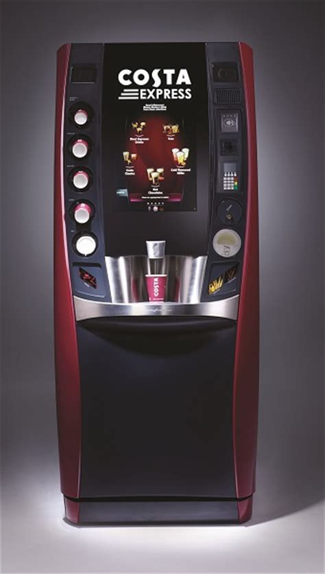 Costa Express revolutionises self serve coffee with launch of Marlow   Hospitality & Catering News