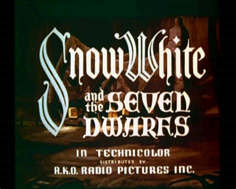 Tje Whitening Original sneeuwwitje en de zeven dwergen 1937