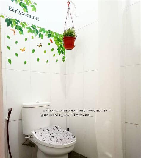 wallpaper dinding kamar mandi 31 dekorasi kamar mandi minimalis makin unik cantik 2018