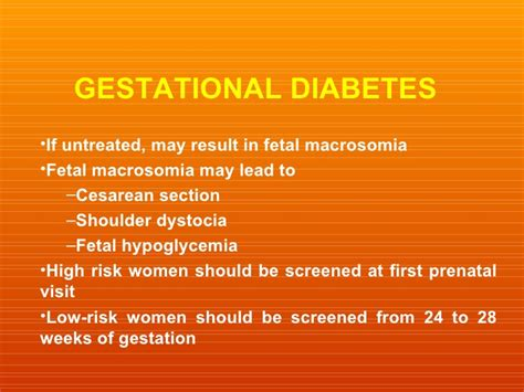 gestational diabetes and c section diabetes guidelines
