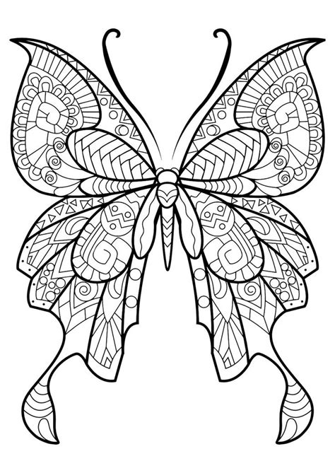 butterflies coloring book for adults books best 25 mandala coloring pages ideas on