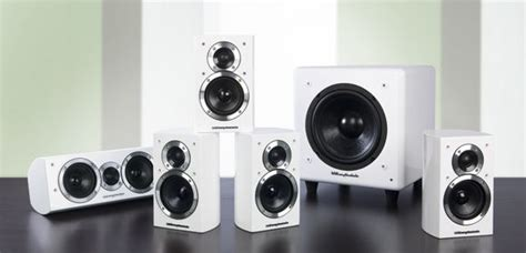 wharfedale dx hcp white  system
