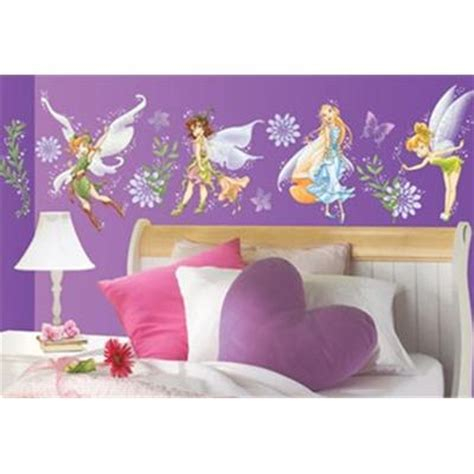 wall borders for bedrooms girls bedroom ideas tinkerbell fairies wallpaper border