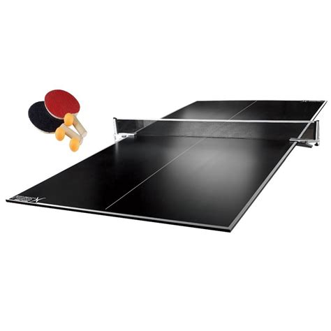 table tennis ping pong conversion top in blue by x
