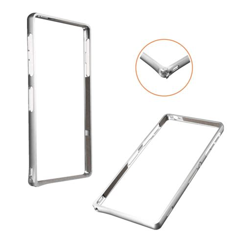 Bumper Metal Sony Xperia Z3 Gold aluminum metal frame bumper for sony xperia z3