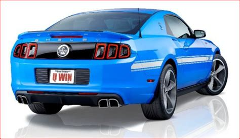 Shelby Mustang Giveaway - two shelby gt500 s plus 50 000 for taxes