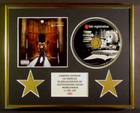 Kayne For Limited Edition At Shopbop by Kanye West Cd Display Limited Edition Late Registration