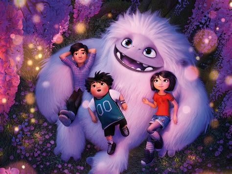 wallpaper abominable animation    movies