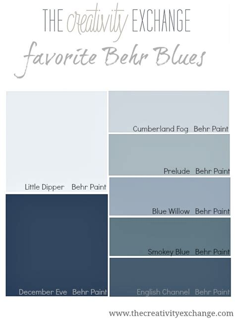 blue grey paint colors behr
