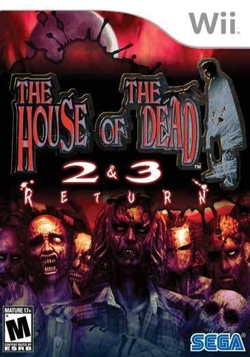 house of the dead 2 the house of the dead 2 3 return nintendo wii game