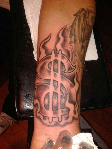 money sign tattoos dollar sign best 3d ideas