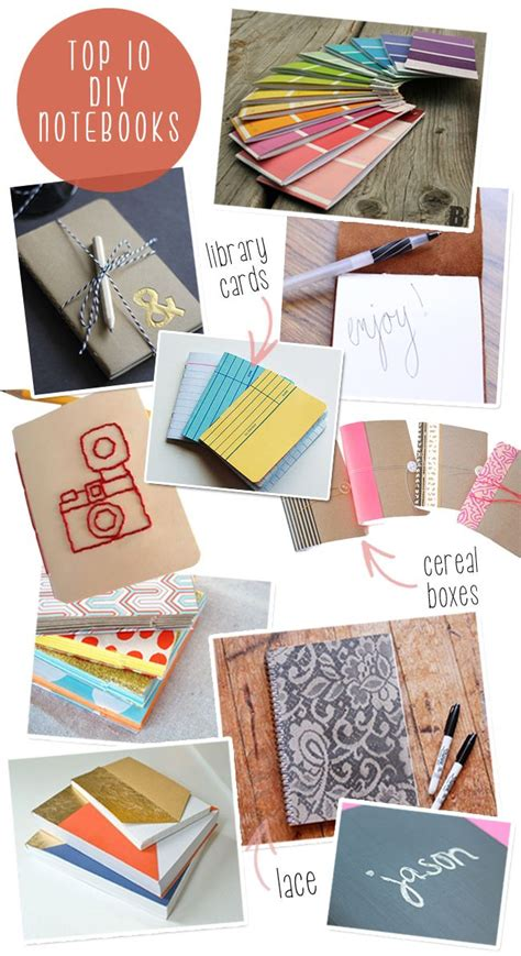 Handmade Notebook Ideas - 81 best images about writers club ideas on
