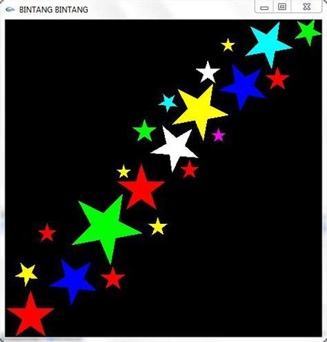 fb bintang membuat bintang dengan open gl 171 dasar dasar pemograman
