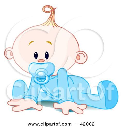 printable baby poster baby boy in a sleeper sucking in a pacifier and trying to