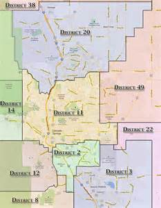 school district map colorado colorado springs school district map