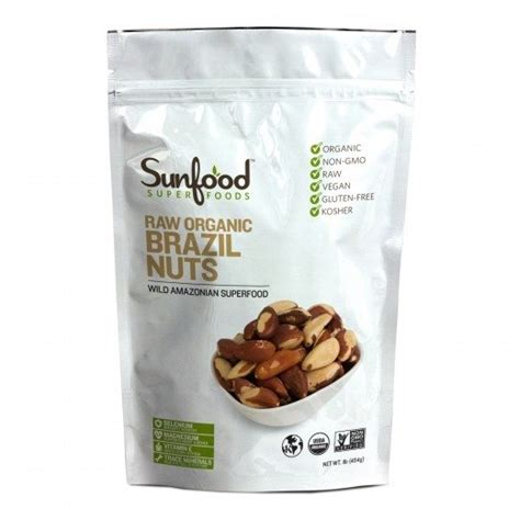 Detox Nuts by Organic Brazil Nuts Selenium Cancer Fighting
