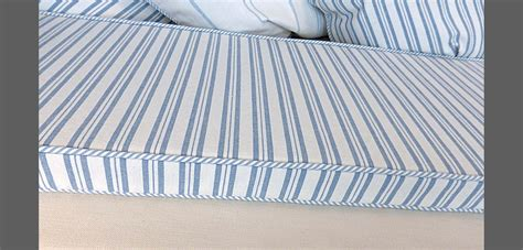 bench seat cushions made to measure loose covers