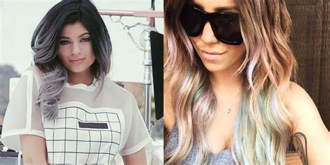 top hair colors colored ombre hair colombre hair trend
