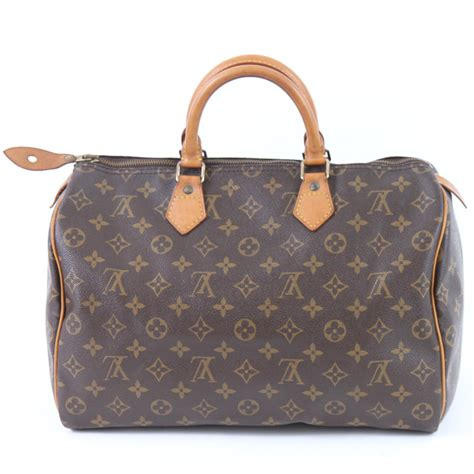 louis vuitton speedy replica bag  side upside