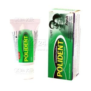 Lem Gigi Polident Jual Beli Polident Adhesive 15g K24klik