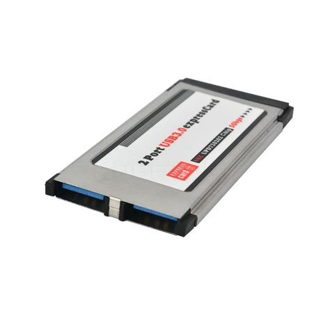 Pci Express To 2 Usb 30 Port Pci Card No Color מוצר pci express card expresscard to usb 3 0 2 port