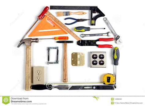 house made house made of tools stock photo image 14096590