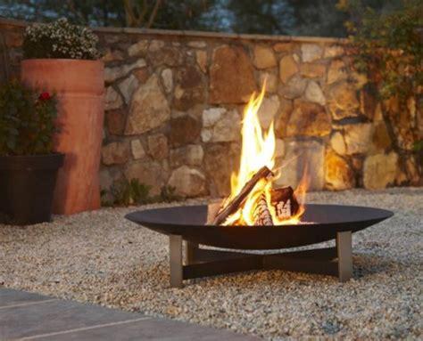 feuerstelle sunset feuerschale und feuerkorb f 252 r den garten design m 246 bel