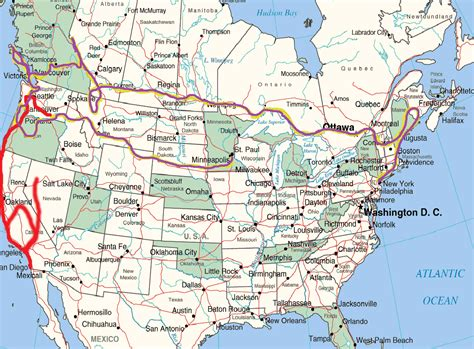 map of canada and usa usa canada tolchinsky