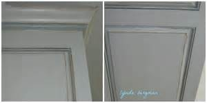 Painted Gray Kitchen Cabinets lynda bergman decorative artisan painting distressed