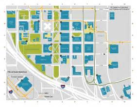 Psu Map Portland by Campus Map And Self Guided Tour Portland State Online