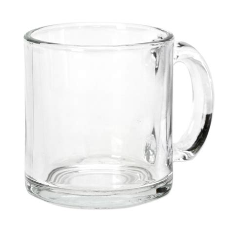 Warm Beverage Mug Clear Glass 13 oz