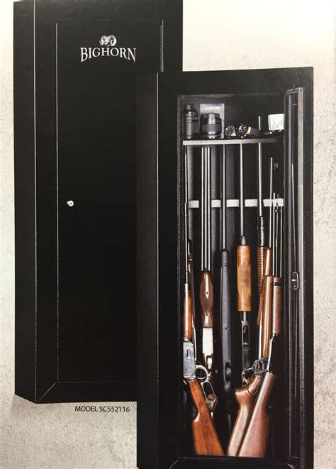 B474 Black rhino metals bighorn gun cabinet black 106 lbs saddle