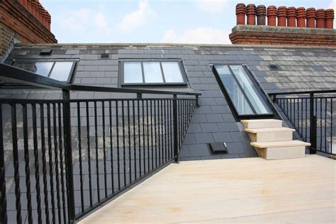loft roof repair roof terrace and loft conversion to a flat west