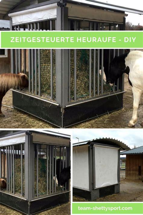 esszimmertisch und stall sets offenstall selber bauen rundballenraufe selber bauen