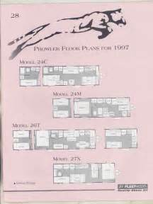 prowler trailers floor plans 1997 fleetwood prowler floor plan travel trailer brochure