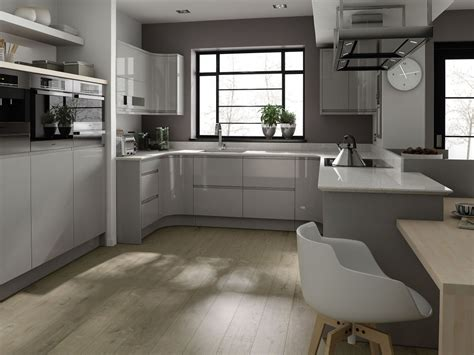 affordable kitchens with light gray kitchen cabinets