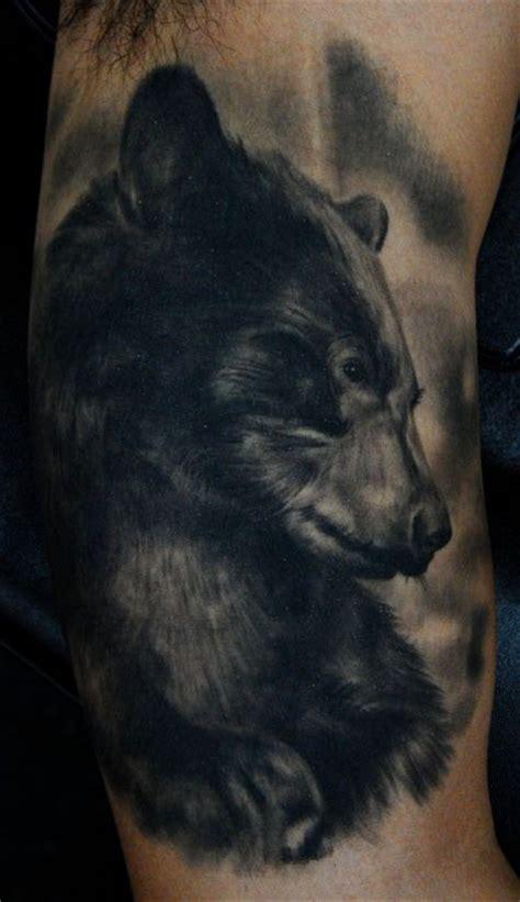 black bear tattoo tattoos and designs page 207