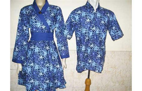 Baju Pasangan Sarimbit Batik Widuri baju batik sarimbit cumi biru toko batik jogja
