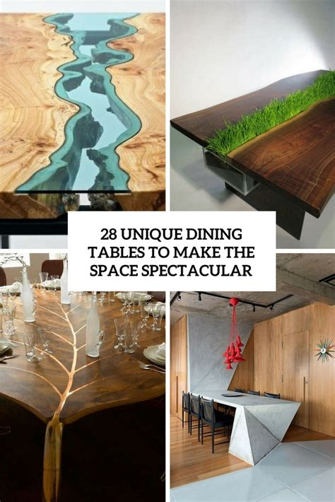 unique dining table 28 unique dining tables to the space spectacular