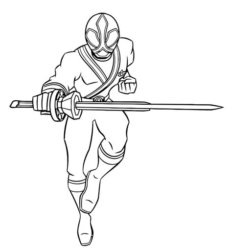 free power rangers samourai coloring pages power rangers samurai coloring pages for boys to print for