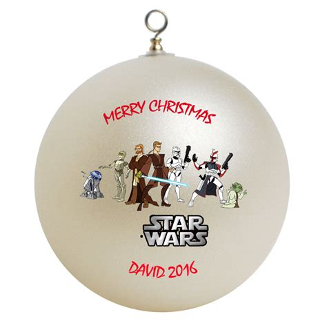 personalized christmas gifts personalized star wars christmas ornament gift ornaments