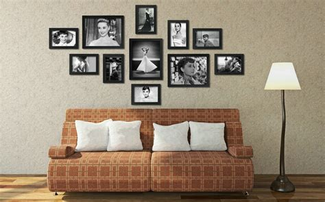 wall collage frames wall collage picture frames furniture design ideas