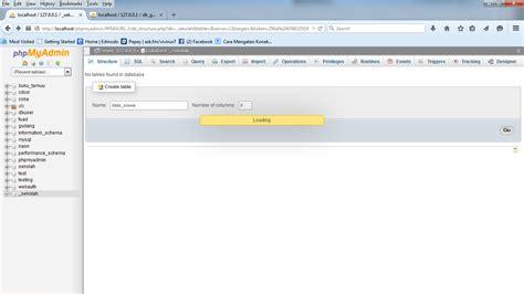 membuat database guru bagaimana cara membuat database dengan mysql xp