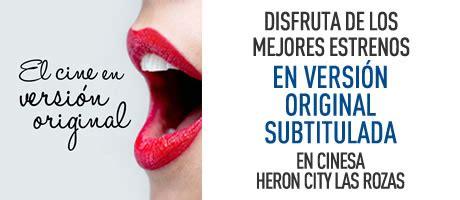 entradas cine heron city cines cinesa 183 las rozas heron city 183 cartelera horarios